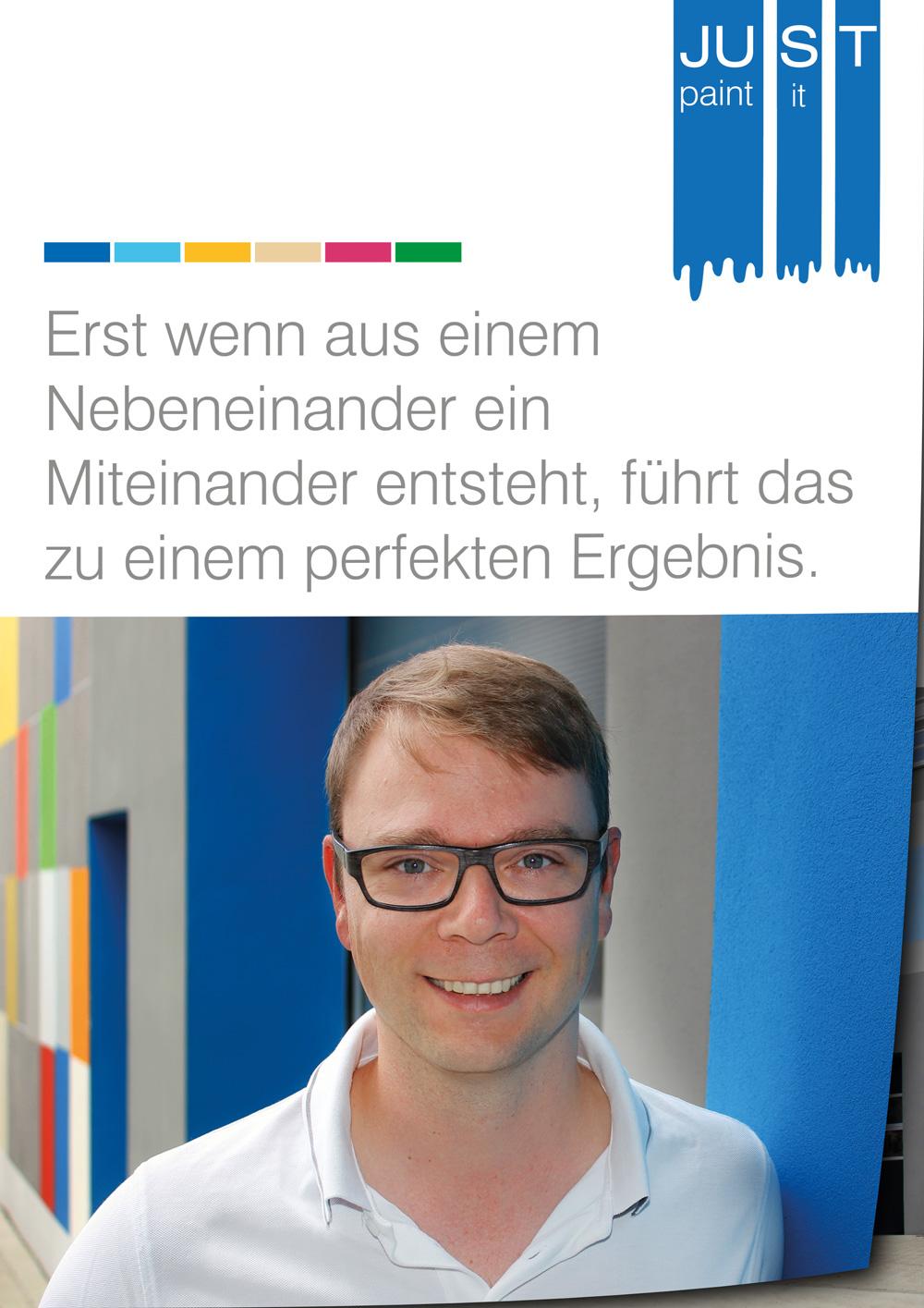 Imageprospekt JUST GmbH