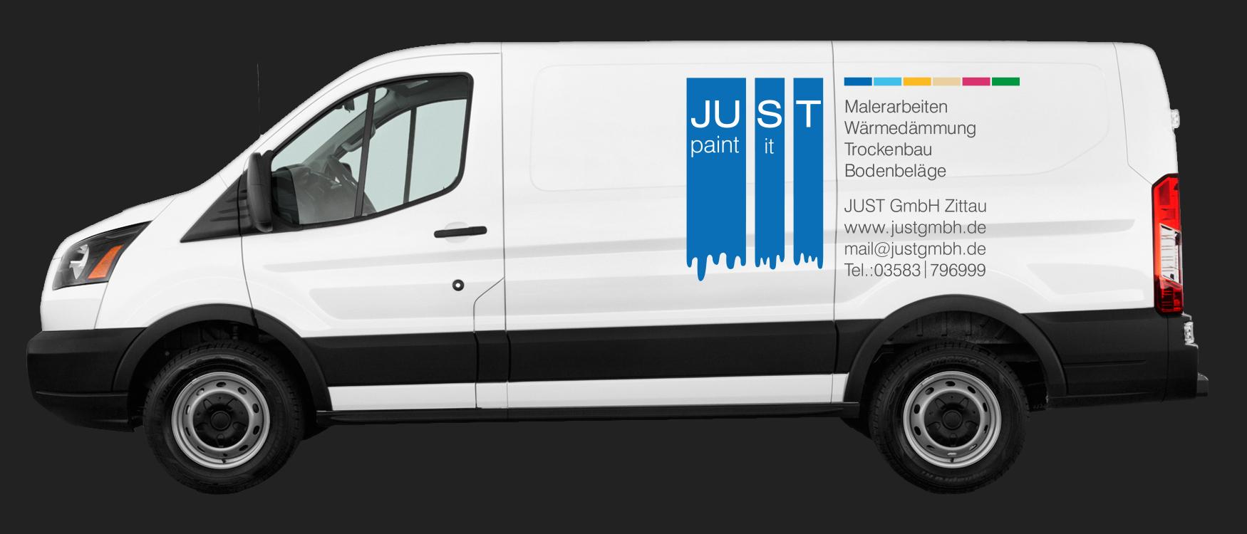 Ford Transit Entwurf Armando Verano JUST GmbH
