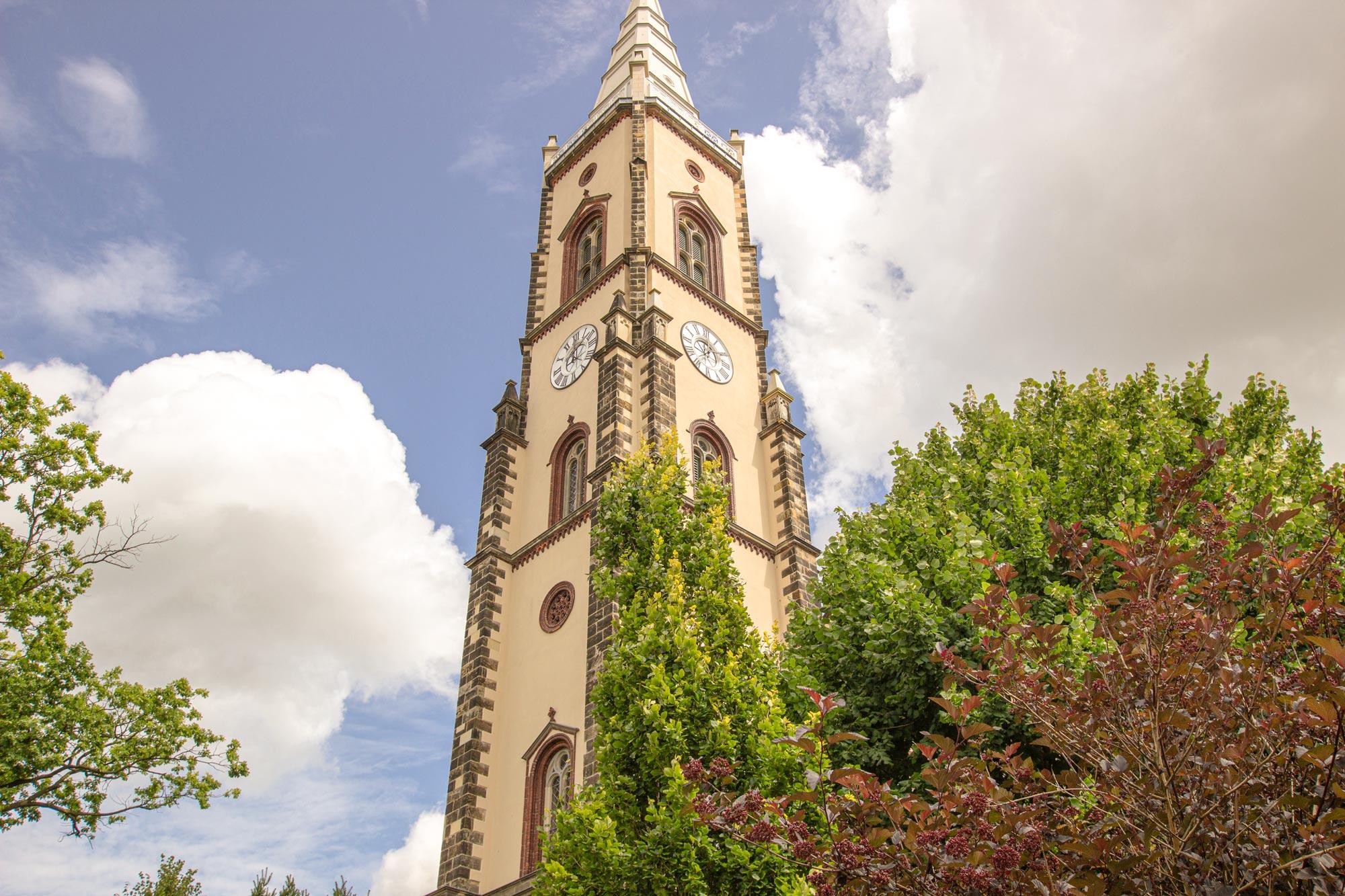 JUST-GmbH-Zittau-Kirchturm-Leutersdorf
